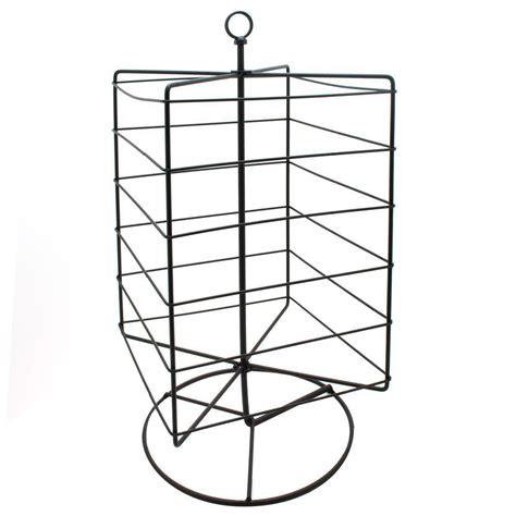 rotating metal earring card stand jewelry displays ring