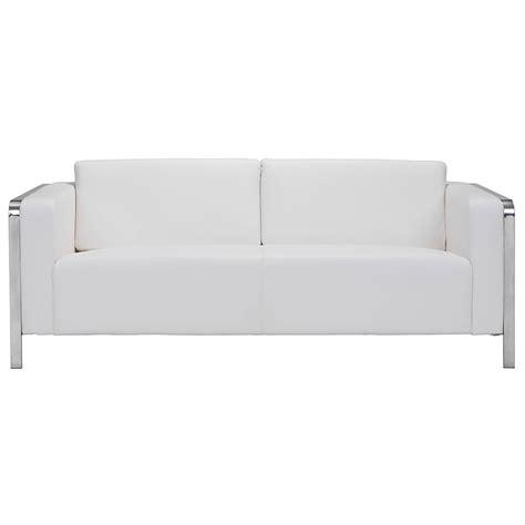 White Modern Couches by Modern Sofas Terzo White Modern Sofa Eurway