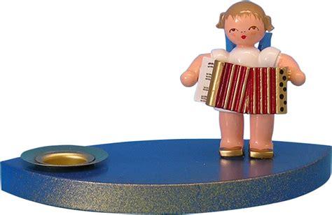 Kerzenhalter 7 Cm by Kerzenhalter Engel Mit Akkordeon 7 Cm Uhlig