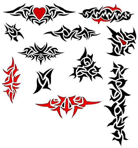 black and red tattoo designs 40 tribal designs