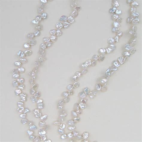 keshi pearl keshi pearl rope necklace keshi
