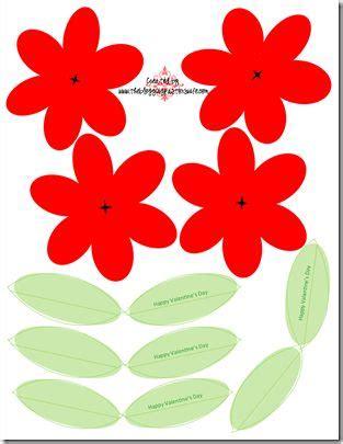 printable valentine flowers pinterest the world s catalog of ideas