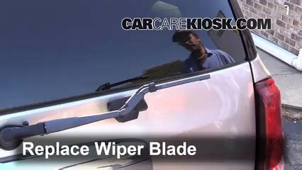 repair windshield wipe control 2004 buick rainier security system rear wiper blade change buick rainier 2004 2007 2004 buick rainier cxl plus 4 2l 6 cyl