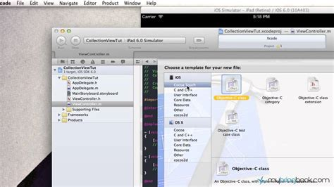 Xcode Uicollectionview Tutorial | uicollectionview tutorial exle in ios 6 xcode 4 5 pt1