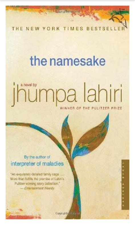 namesake themes the namesake by jhumpa lahiri we read that too