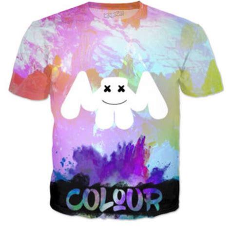 Tshirt Marshmello 1 marshmello colour t shirt from rageon
