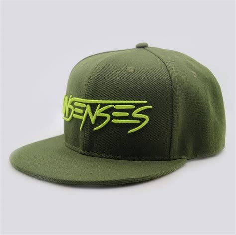 unsenses army green snapback workz shop