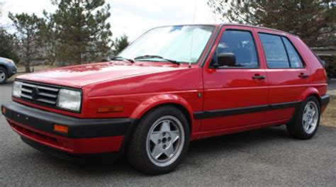 how to sell used cars 1991 volkswagen golf auto manual purchase used 1991 volkswagen golf gl wolfsburg edition 39k orig miles in watervliet new york