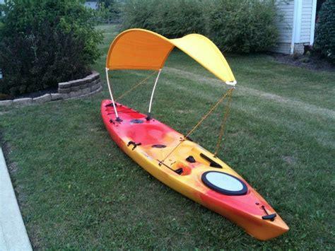 how to make a bimini top for my boat homemade kayak bimini kayak stuff pinterest homemade