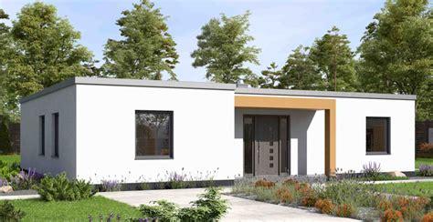 Bungolow by Bungalow Modern Mit Flachdach Von Ytong Bausatzhaus