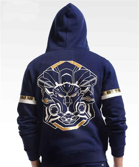 Zipper Hoodie Overwatch Brothersapparel 2 overwatch reinhardt hoodies blue zip up ow sweatshirts wishining