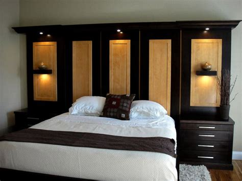 wall unit headboard beds 1000 ideas about bedroom wall units on pinterest