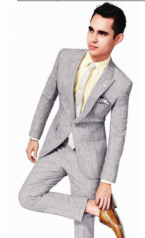 light grey suit gq summer style light gray suit with yellow button up