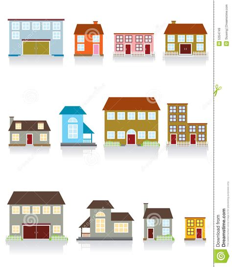 House Design Inside Simple house vector icon royalty free stock images image 5354749