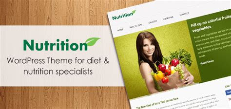 wordpress themes nutrition free nutrition wordpress healthcare theme inkthemes