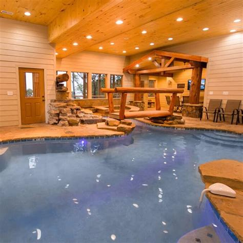 Cabin Rentals In Pigeon Forge Tn With Indoor Pool by 64 Best Large Cabins In The Smokies Images On