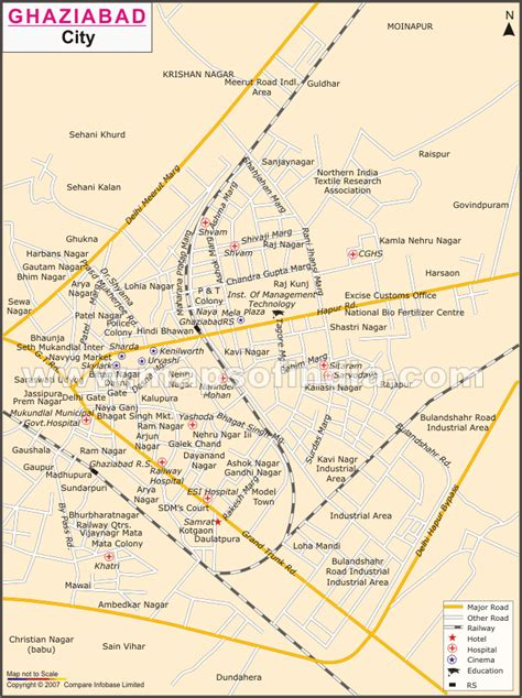 ghaziabad in india map detail of ghaziabad development news in 2013 2016
