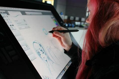 C Drawing On Screen by Wacom S Will Wants You To Draw On Any Screen Cnet