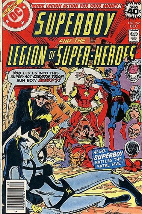 superboy and the legion of heroes vol 2 superboy and the legion of heroes vol 1 246 dc