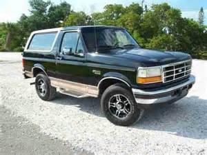 1996 Ford Bronco Eddie Bauer Buy Used 1996 Ford Bronco Eddie Bauer Sport Utility 2 Door