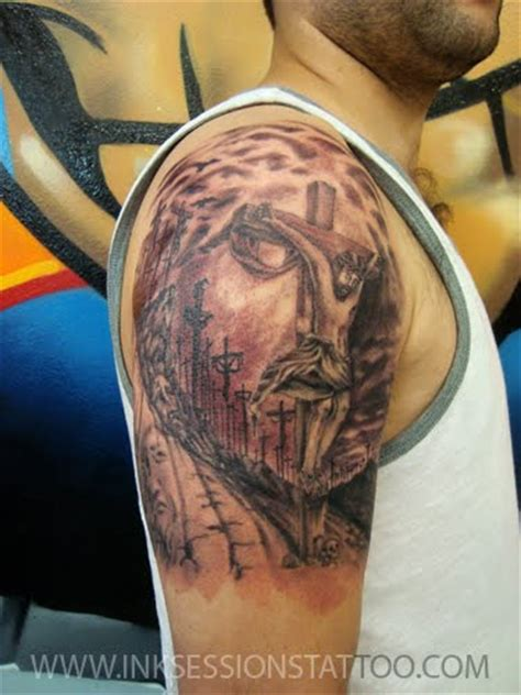 jesus tattoo illusion ink sessions tattoo jesus optical illusion tattoo