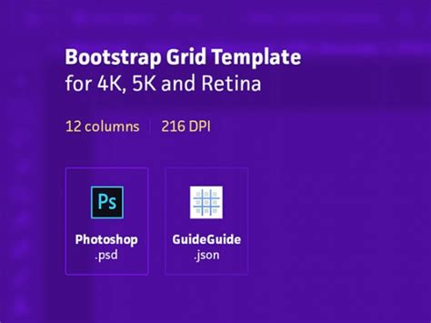 template photoshop bootstrap bootstrap grid template for photoshop freebiesbug