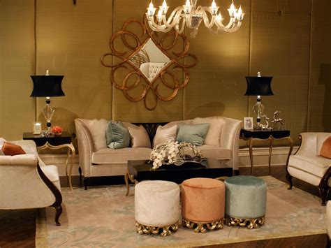 gold walls living room photo page hgtv