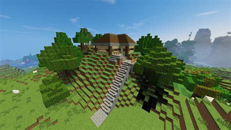 mountain house forum mountain home with secret underground base wip creative mode minecraft java edition