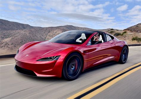 tesla supercar new tesla roadster electric hypercar spotted on the road