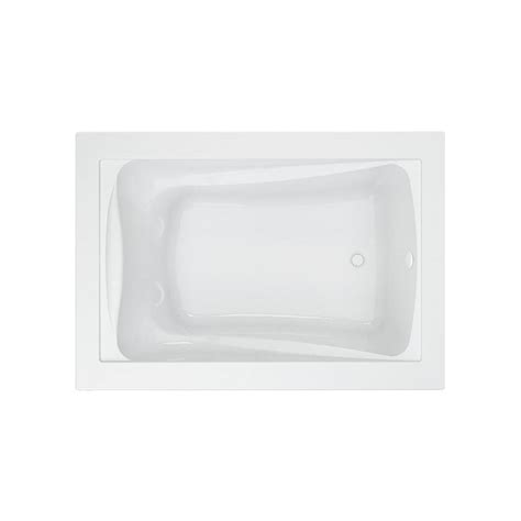 bathtubs american standard american standard evolution 5 ft right drain bathtub in