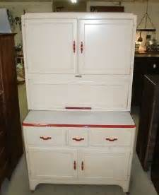 Sellers Kitchen Cabinets Antique Vintage Sellers Kitchen Cabinet White With Trim Flour Sif