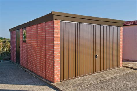 compton detached sectional garage pent roof concrete garages free quote lidget compton