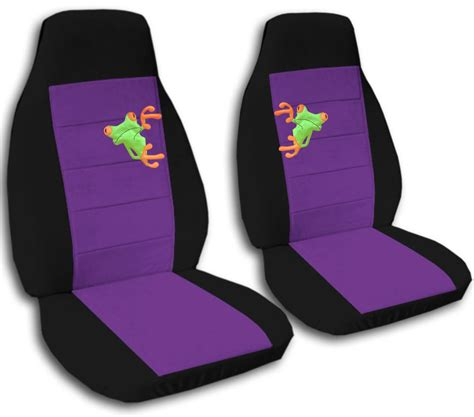 purple seat covers for cars set frog black purple car seat covers other colors
