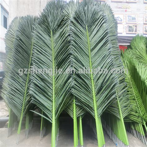 How To Make Paper Palm Leaves - china leaf artificial palm tree leave water