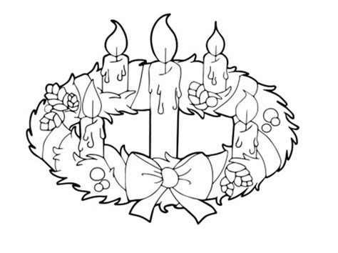 advent wreath candles coloring page making advent wreath coloring page coloring pages