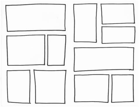 Comic Template Maker by Captain Underpants Inspired Comic Book Templates 30
