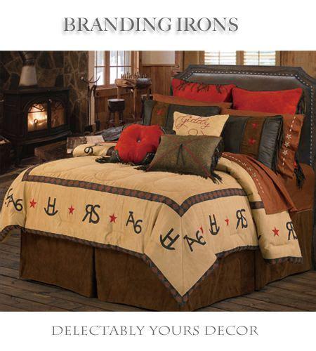 branding iron bedding comforter set features a soft