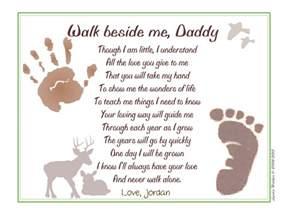 walk beside me 169 poem baby child handprint footprint