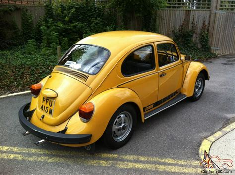 volkswagen bug yellow volkswagen beetle yellow ebay motors 151028758515