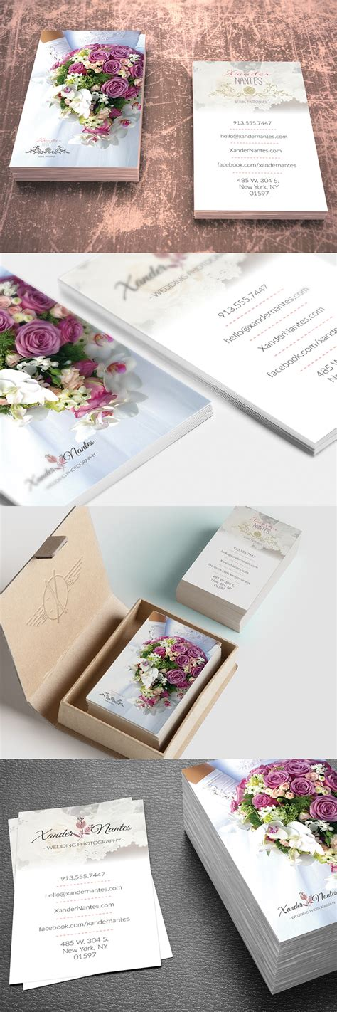 photoshop card templates etsy wedding photographer business card v1 photoshop psd
