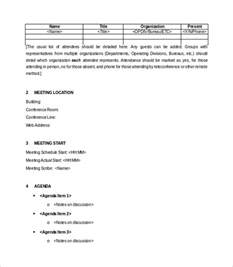 minute templates free meeting minutes template 28 free documents in