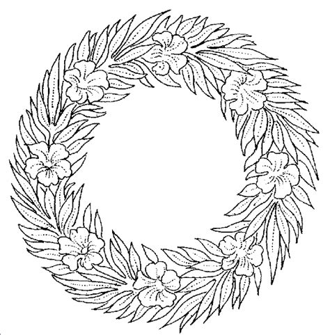blank wreath coloring page wreath coloring sheet craft new calendar template site