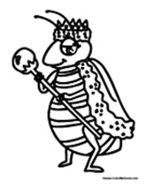 queen ant coloring page queen coloring pages