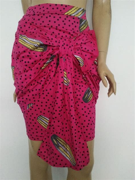 Kalung Fashion Bowknot Decorated fashion bow decorated print blending sheath knee length skirt skirts bottoms