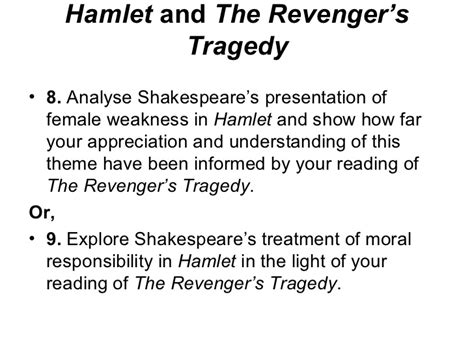list of themes in hamlet hamlet 2011 key themes