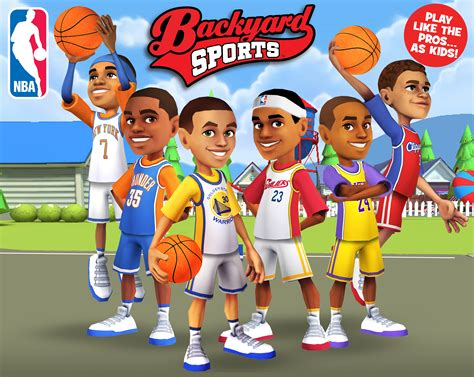 backyard sport games like rock band new backyard sports mobile games let kids