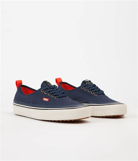 vans x finisterre authentic hf shoes navy flatspot