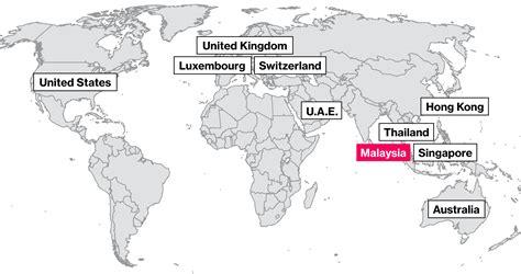 swiss bank location how malaysia s 1mdb fund reaches around the world