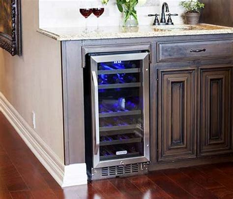 built in wine cooler cabinet how to build a wine cellar on a budget