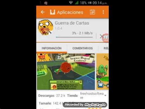 aptoide card wars como descargar aptoide y card wars youtube